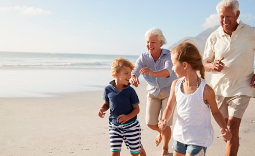 Grandparents role in a child's life.